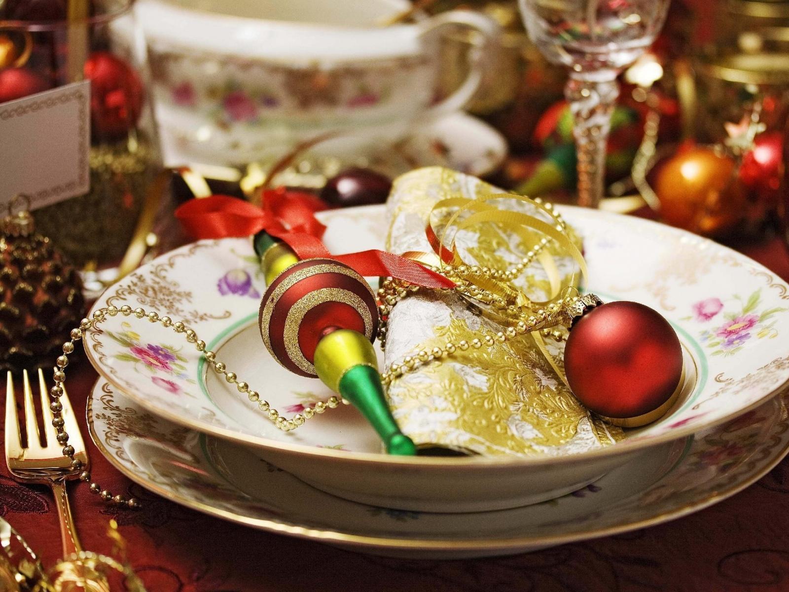 Kerstavond en middag menu