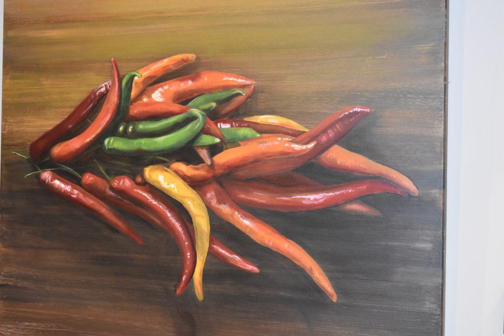 Schilderij in Artisan Restaurant / Lunch / Tearoom @ Maldegem